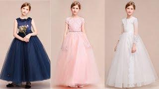Beautiful Flower Girl Dresses | Junior Bridesmaid Dresses | Kids Evening Dresses