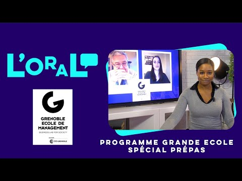 L'oral : PGE GEM