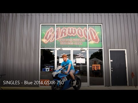 2014 Suzuki GSXR-750 in Lexington, North Carolina - Video 1