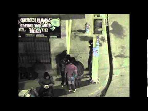 1° CÁMARAS DE VIDEO VIGILANCIA CAPTAN IMÁGENES DE ROBO A TRANSEÚNTE