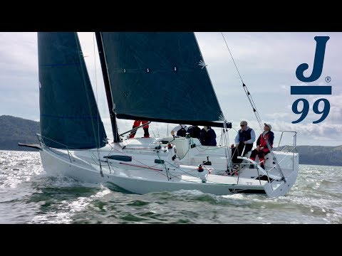J Boats J/99 video