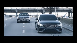 Mercedes E43 AMG vs BMW 540i. Кто же круче?