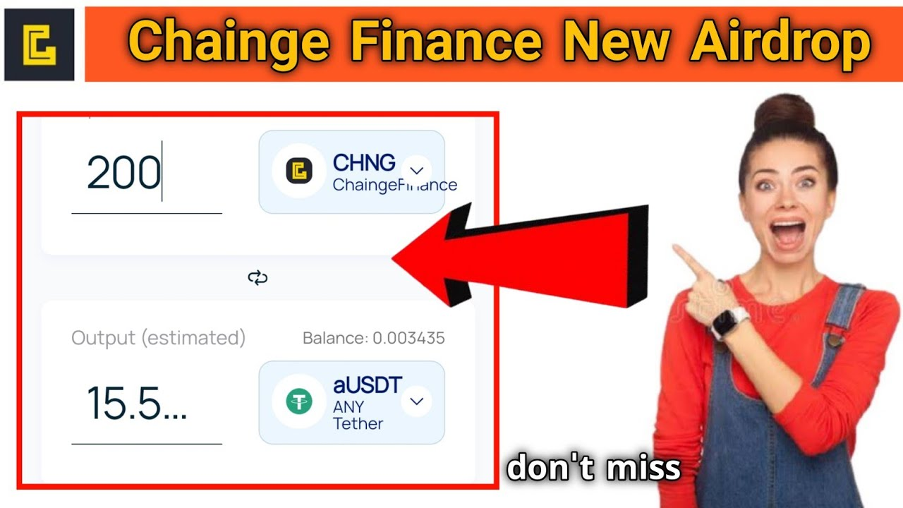 Chainge Finance New Airdrop join bonus 200 chng don't miss this airdrop thumbnail
