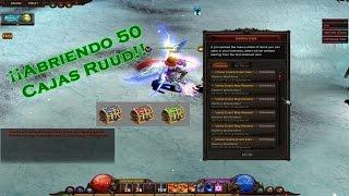 ¡ABRIENDO 50 CAJAS RUUD!   Opening 50 Ruud Boxes [Mu Online]