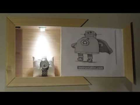 Build A Secret Sliding Door Compartment Behind A Picture