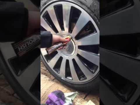 Amateur Chrome Wheel Polishing on Audi A8