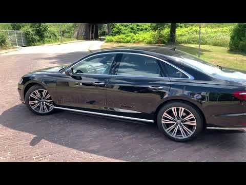 English review Audi A8 50TDi Quattro in 4K 2019 Inside & outside