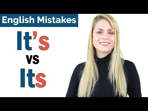 It's vs Its | Common English Grammar Mistake