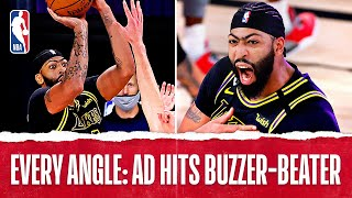 Every Angle: AD Hits #TissotBuzzerBeater To Take 2-0 Series Lead!