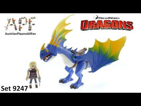 Vidéo PLAYMOBIL Dragons (DreamWorks) 9247 : Astrid et Tempête