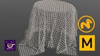 Cretae a net with Modo meshops and Marvelous Designer