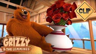 Grizzy veut offrir une bague à sa belle - Grizzy & les Lemmings