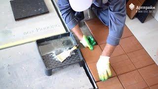 Инструкция по монтажу резиновой плитки видео