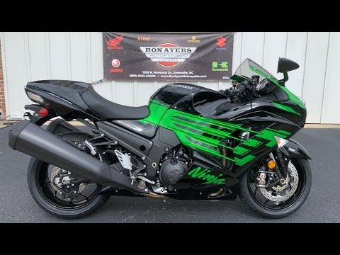 2020 Kawasaki Ninja ZX-14R ABS in Greenville, North Carolina - Video 1