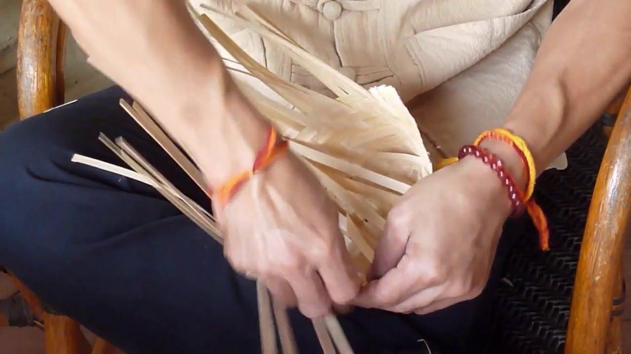 Khmu Bamboo Weaving