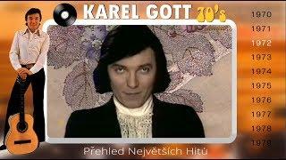 KAREL GOTT ★ Přehled největších hitů 2/5 ★ (70s)
