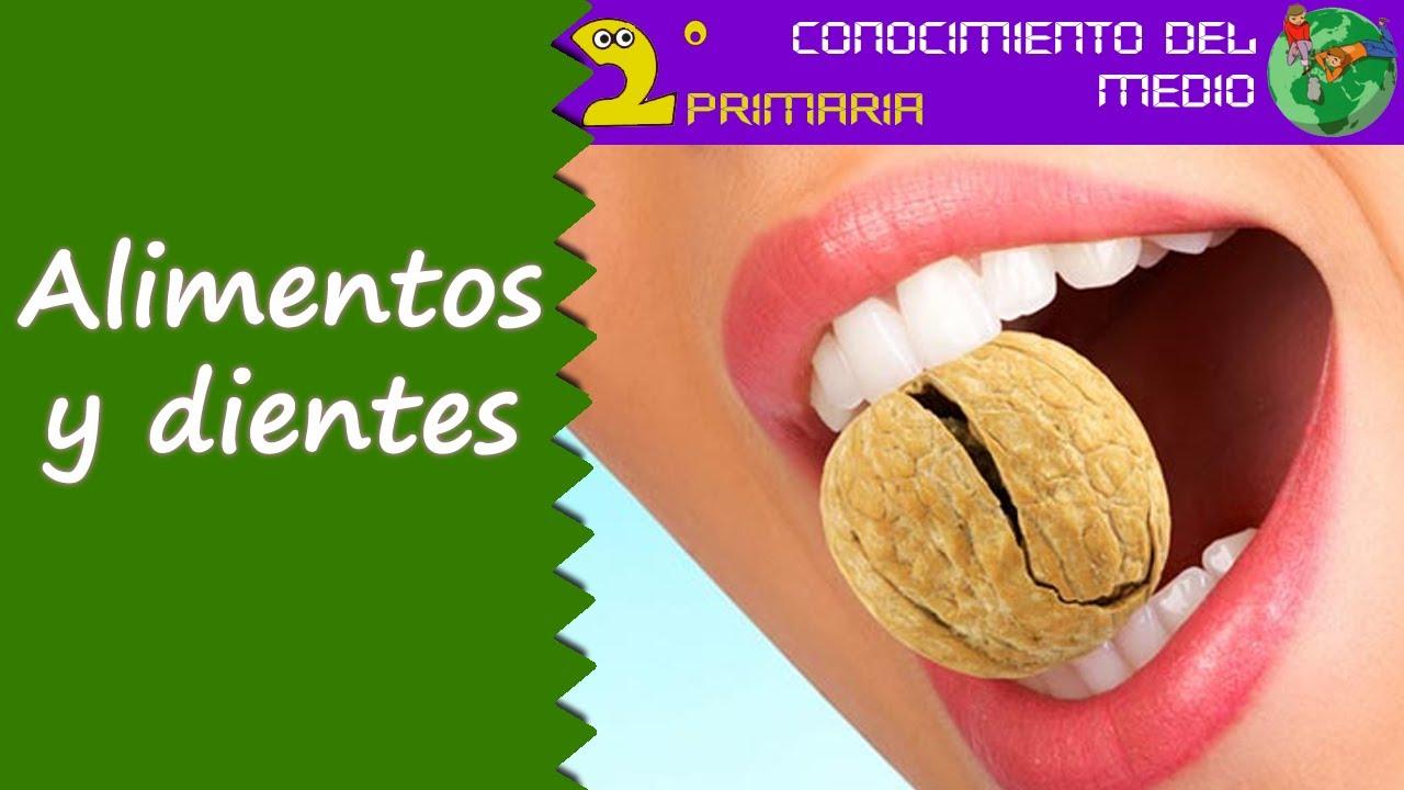 Cono, 2º Primaria. Tema 2. Los alimentos y los dientes