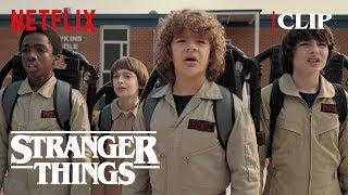 Ghostbuster Scene | Stranger Things 2 | Netflix