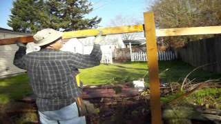 Wood fence mistakes one two three