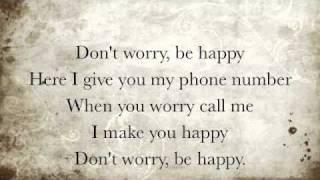Don't Worry Be Happy Lyrics