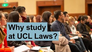 Why study the LLB at UCL Faculty of Laws?