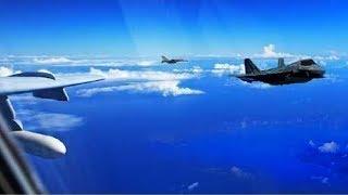 挑戰新聞軍事精華版--中國轟六今又繞台,國防部:軍機升空警戒監控