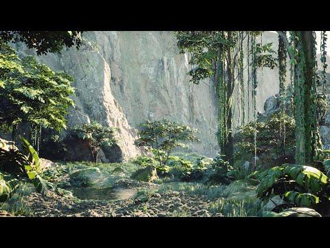 Nanite & Lumen are INSANE! on a Tropical Hillside - Unreal Engine 5
