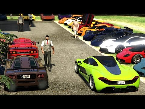 Progen Car Meet In GTA 5 Online - TheLowlyGentlemen