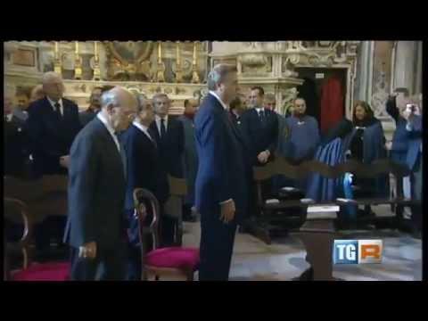 Messa Solenne nella Chiesa di San Ferdinando – TGR Napoli 22 Novembre 2014