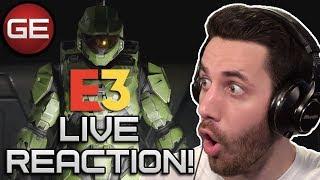 Halo Infinite Live Reaction!   E3 2019