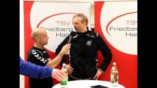 preview picture of video 'Pressekonferenz TSV Friedberg - HBW Balingen-Weilstetten II'