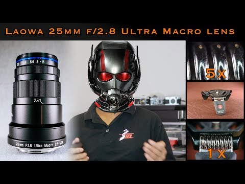 Laowa 25mm f/2.8 2.5-5x Ultra Macro Lens Review