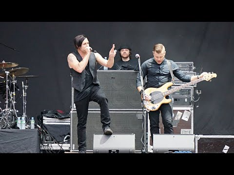 Three Days Grace – Time Of Dying - Live in Moscow Park Live Music Fest 5.07.2017