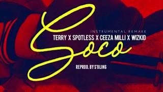 Wizkid   SOCO Ft. Ceeza Milli, Spotless & Terri (Instrumental) ReProd. By S'Bling