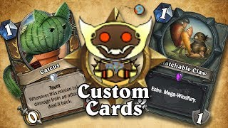TOP CUSTOM CARDS OF THE WEEK #12 | Card Review | Hearthstone