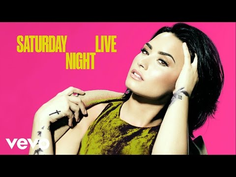 Playing with Demi Lovato on SNL!