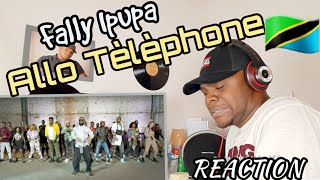 Fally Ipupa - Allo Téléphone (Clip officiel)REACTION., Kionjo tu😀