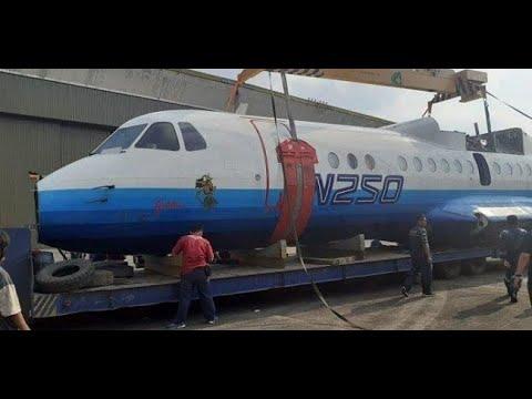 Pesawat N250 Gatot Kaca Terima Nasib Jadi Penghuni Museum