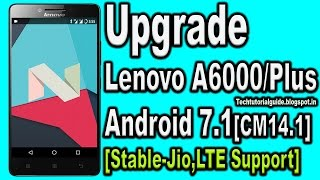 How to Downgrade Lenovo A6000 & A6000+ Lollipop to Kitkat - Thủ