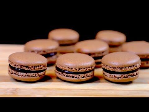 French Macaron | Chocolate Macaron | Recipe