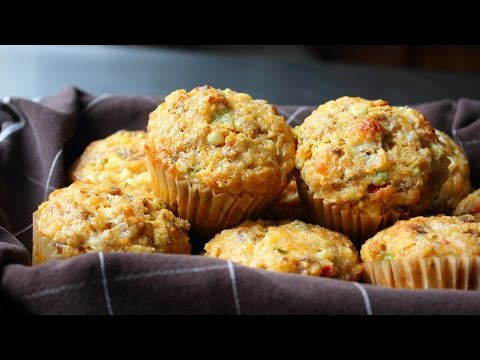 Sausage & Sweet Corn Muffins – Sausage Stuffed Corn Muffin Recipe