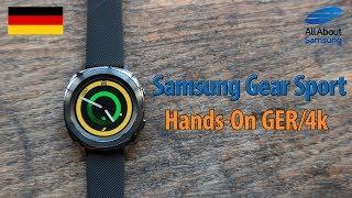 Samsung Gear Sport Hands-On Deutsch 4k