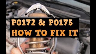 Top 5 Reasons Why You Are Getting A P0172 And P0175 Code