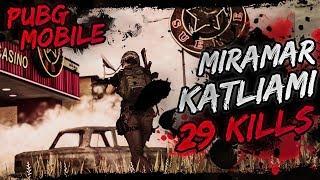 MİRAMAR KATLİAMI - 29 KILLS [PUBG Mobile]