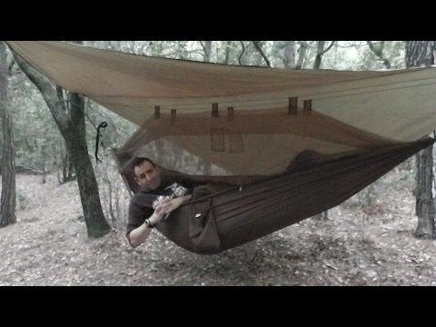 Kit de hamaca mosquitera + toldo Highlander Nomad
