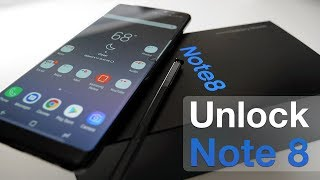 How to Unlock Samsung Galaxy Note 8