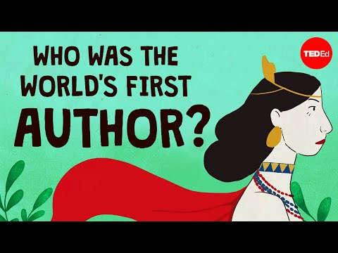 Meet the First Author in History - Enheduanna