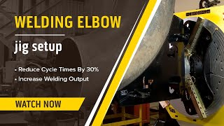 How-To Weld Elbow Joints Easily (Elbow Jig Demonstration)