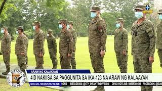4ID nakiisa sa paggunita sa ika-123 na Araw ng Kalayaan
