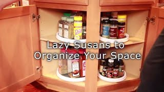 Lazy Susans with Angela Brown, Clean and Organize Your Cupboards